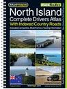 North Island - New Zealand Kiwimaps Complete Drivers Atlas
