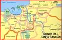 San Sebastian / Donostia Michelin City Map