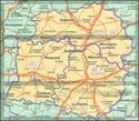 Mayenne - Orne - Sarthe Michelin Local 310