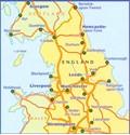 Northern England - Midlands Michelin Regional 502