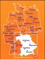 Germany Southeast - Bavaria Michelin Regional 546
