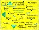 Monti Sibillini National Park Kompass 2474