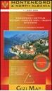 Montenegro & North Albania Gizi Map