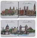 London-Landmarks-Set-of-Coasters_5027302205815