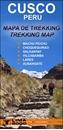 Cusco Trekking Map