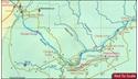 Zimbabwe National Parks Map