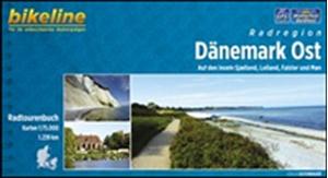 Denmark East Bikeline Cycling Atlas: Zealand, Lolland, Falster and Møn (1236km)