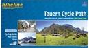 Tauern Cycle Route: Krimml via Salzburg to the Danube (320km) Bikeline Map/Guide ENGLISH Ed.