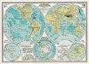 Hemispheres Map Wrap