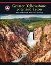 Greater Yellowstone & Grand Teton Benchnark Maps Recreation Atlas & Guide