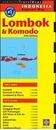 Lombok & Komodo Periplus Travel Map