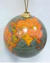Globe Bauble - Green