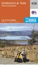 Dornoch & Tain - Alness & Invergordon OS Explorer Map 438 (paper)