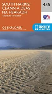 South Harris - Taransay OS Explorer Map 455 (paper)