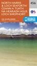 North Harris & Loch Seaforth OS Explorer Map 456 (paper)