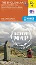 English Lakes North Western - Keswick, Cockermouth & Wigton OS Explorer Active Map OL4 (waterproof)