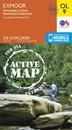 Exmoor - Barnstaple, Lynton, Minehead & Dulverton OS Explorer Active Map OL9 (waterproof)