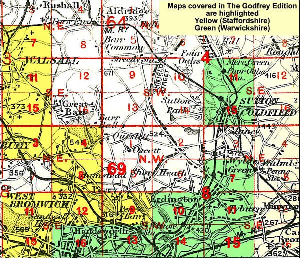 OLD ORDNANCE SURVEY MAP THE DELVES 1912