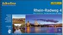 Rhine Cycle Route Part 4 - Cologne to Hoek van Holland (442km) Bikeline Map/Guide