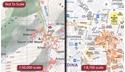 Toubkal Hiking Map & Marrakech Street Plan