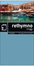 Crete: Rethymno Prefecture 150K Terrain Editions Map