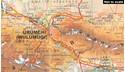 China Northwest Gizi Map