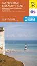 Eastbourne & Beachy Head - Newhaven, Seaford, Hailsham & Heathfield OS Explorer Map OL25 (paper)