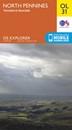 North Pennines: Teesdale & Weardale OS Explorer Map OL31 (paper)