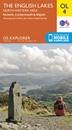 English Lakes North Western - Keswick, Cockermouth & Wigton OS Explorer Map OL4 (paper)