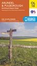 Arundel & Pulborough - Worthing & Bognor Regis OS Explorer Map OL10 (paper)