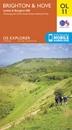 Brighton & Hove - Lewes & Burgess Hill OS Explorer OL11