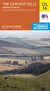Cheviot Hills - Jedburgh & Wooler OS Explorer Map OL16 (paper)
