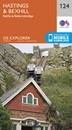 Hastings & Bexhill - Battle & Robertsbridge OS Explorer Map 124 (paper)