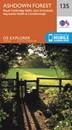 Ashdown Forest - Royal Tunbridge Wells, East Grinstead, Haywards Heath & Crowborough OS Explorer Map 135 (paper)