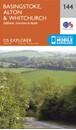 Basingstoke - Alton, Whitchurch, Odiham, Overton & Hook OS Explorer Map 144 (paper)