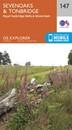 Sevenoaks & Tonbridge - Royal Tunbridge Wells & Westerham OS Explorer Map 147 (paper)
