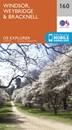 Windsor - Weybridge & Bracknell OS Explorer Map 160 (paper)