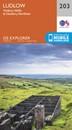 Ludlow - Tenbury Wells & Cleobury Mortimer OS Explorer Map 203 (paper)