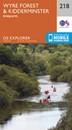 Wyre Forest & Kidderminster - Bridgnorth OS Explorer Map 218 (paper)