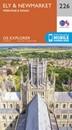 Ely & Newmarket - Mildenhall & Soham OS Explorer Map 226 (paper)