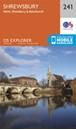 Shrewsbury - Wem, Shawbury & Baschurch OS Explorer Map 241 (paper)