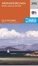 Ardnamurchan - Moidart, Sunart & Loch Shiel OS Explorer Map 390 (paper)