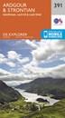Ardgour & Strontian - Glenfinnan, Loch Eil & Loch Shiel OS Explorer Map 391 (paper)