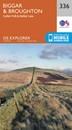 Biggar & Broughton - Culter Fell & Dollar Law OS Explorer Map 336 (paper)