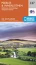 Peebles & Interleithen - Eddleston, Ettrickbridge, Traquair & Yarrow OS Explorer Map 337 (paper)