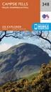 Campsie Fells - Kilsyth, Strathblane & Fintry OS Explorer Map 348 (paper)