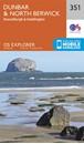 Dunbar & North Berwick - Musselburgh & Haddington OS Explorer Map 351 (paper)