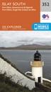 Islay South: Port Ellen, Bowmore & Bridgend OS Explorer Map 352 (paper)
