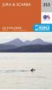 Jura & Scarba OS Explorer Map 355 (paper)