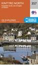 Kintyre North - Knapdale South, Tarbert & Isle of Gigha OS Explorer Map 357 (paper)